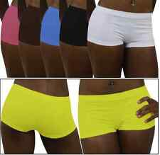 Your Choice Of Color for 1 Boyshort Seamless Underwear Womens Panty Short Large