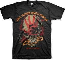 Five Finger Death Punch The Way Of The Fist Licensed Adult Shirt S-2XL