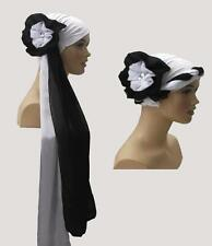 Fancy Lycra Head cover hat scarf can be used for cancer or chemo turban headwrap
