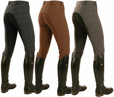 Mark Todd Ladies Plaid Breeches - All Sizes - Great Price