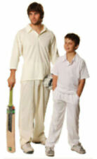 Pants ,Cricket, White,Cream, Men, 6,8,10,12,14 Aussie,Trousers,Sport,Cool Dry