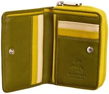 Visconti RB53 Ladies Soft Leather Small Bifold Wallet Purse Card Holder Gift Box