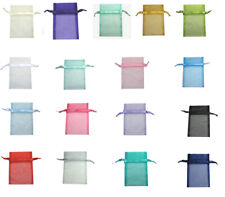 """Lots 17x22cm Organza Wedding Gift All Occasions Christmas Large Pouch Bag 7x9"""""""