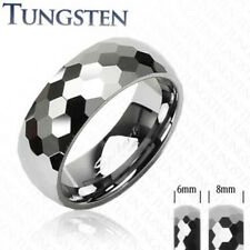 Tungsten Carbide Ring Honeycomb Design Size 5,6,7,8,9,10,11,12,13 (f62)