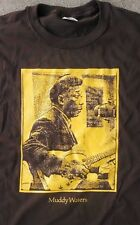 MUDDY WATERS T SHIRT VINTAGE BLUES GUITAR W TELECASTER CLASSIC S-5XLG