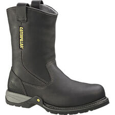 Caterpillar Gladstone Steel Toe Pull On - Men's Work Boot - Black