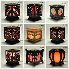 'Chinese' Wooden Electric Scent Oil Diffuser Warmer Burner Aroma Fragrance Lamp