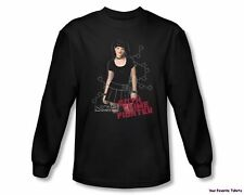 Officially Licensed NCIS Goth Crime Fighter Long Sleeve Shirt S-3XL