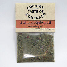 Easy-To-Make Spinach or Sicilian Dipping Oil Italian Dip Mixes