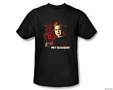 Officially Licensed Paramount Pet Sematary Movie I Want To Play Adult Shirt