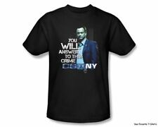 CSI NY New York You Will Answer Officially Licensed Adult Shirt S-3XL