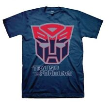 Officially  Licensed Hasbro Transformers Two Tune Autobot Symbol Shirt S-2XL