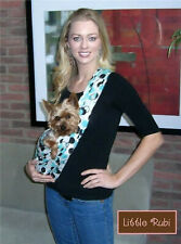 NEW LittleRubi pet dog puppy carrier sling tote free hands 45 colors XS-3XL