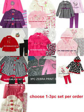 * NWT NEW GIRLS 3PC KIDS HEADQUARTERS WINTER SWEATER OUTFIT SET 2T 3T 4T 5 6 6X