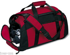 Port Company Gym Bag Duffle Workout Sport Bag BG97 - NEW
