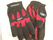 DeBeer Tropic Lacrosse Gloves Red Black New $30 Womens XL Extra Large