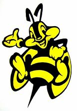 NEW HAPPY BEE,WASP CAR DECAL,STICKER,WINDOW GRAPHIC,SURF