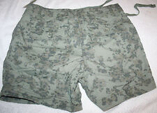 STYLE & CO. MILITARY GREEN PRINT BERMUDA SHORTS NEW