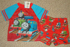 NWT Thomas The Tank Engine & Friends Pajama Set Size's 2T or 3T Too Cute !!