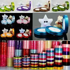 25 yards 6mm to 50mm all colors satin ribbon wedding craft Sewing decoration