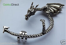 Gothic Dragons Lure Ear Cuff / Wrap / Earring - Multiple Colours Left Ear