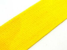 Yellow (52) Cotton Webbing Belting Fabric Strap Bag Making Thick Quality