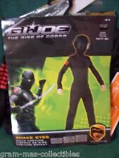 HALLOWEEN COSTUME  G.I. JOE RISE OF COBRA-SNAKE EYES