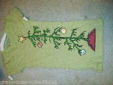 GIRLS CHRISTMAS SHIRT GREEN HAS A PICTURE OF A CHRISTMAS TREE W/ ORNAMENTS ON IT