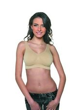 Bravo The Ultimate Comfort Bra Sizes 8 - 30 with removeable pads Nude Only