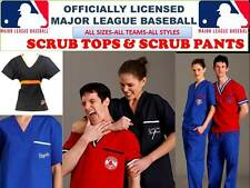 MLB SCRUB TOP-MLB SCRUB PANTS-MLB SCRUBS-ALL TEAMS-MLB BASEBALL SCRUBS-S-W-TEAMS
