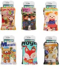 Fits,iPhone 3GS 4S Case,Samsung Galaxy S 2 3,iPod 4, Universal Retro Funky Purse