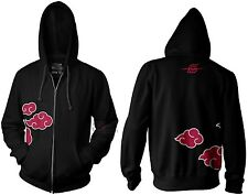 Naruto Shippuden Anti Leaf Clouds Akatsuki Anime Licensed Adult Hoodie S-XXL