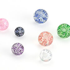 Spare Glitter Balls - Belly / Nipple / Tragus / Labret / Eyebrow / Tongue Bars