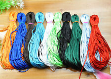10/20/50M  Nylon Imitated Silk Chinese Knot Rattail Beading Cords Thread 2MM