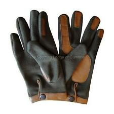 FLEECE AND LEATHER SHOOTING HUNTING GLOVES NEW