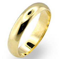 18K Gold Plated Mens Womans Wedding Band Ring Size 6 7 8 9 10 11 12 13 14 New