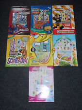 Sticker Paradise Box Ben & Holly Night Garden Princess Peppa Pig Tinkerbell