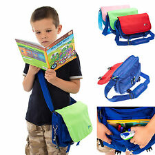 Kids Messenger Shoulder Storage Bag Case for Kidzstar Ultimate Tablet 7 Inch Tab