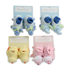 Cutie Baby Infant Bunchkin Animal Socks Booties Slippers Shoes for Boys n Girls