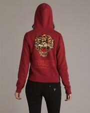 Ed Hardy Tiger Jacket Hoodie with rhinestones nwt Genuine