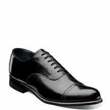 NEW! MENS STACY ADAMS CONCORDE 11003-01 BLACK PATENT LEATHER OXFORD SHOES SIZE