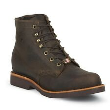 "Chippewa Men's Classic 6"" LACER Ankle Boots, Browns, Leather"