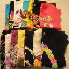 Girls Tee Shirts Graphic Crew Kids Sz XS S M L XL 4-5 6-6X 7-8 10-12 14-16 Print