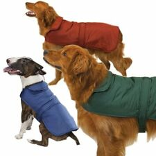 Casual Canine BARN COAT Fleece Velcro Closure WARM Repels Wind & Water Polyester