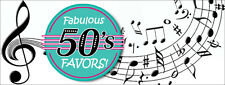 50's ROCK N ROLL PARTY  - FIFTIES ADULT BIRTHDAY- ALL ON THIS LISTING