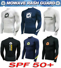 mowave men's woman's surfing shirts rash guard swimming swim wear wetsuits ge
