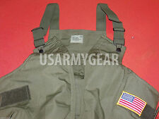 SOFT & THICK* US AIR FORCE TANKER FIRE RESISTANT NOMEX BIB INSULATED CVC OVERALL