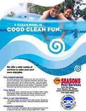 Seasons Swimming Pool Cleaning Services Vero Beach Sebastian Florida Fix repair