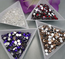 Lots colors 5000pcs Multiple facets Resin 4/5mm Flat Back Rhinestones SS16/20 03