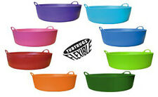 NEW GENUINE FLEXIBLE TUBTRUG SHALLOW 5L FLEXI TUBTRUGS BUCKET - 5 LITRE